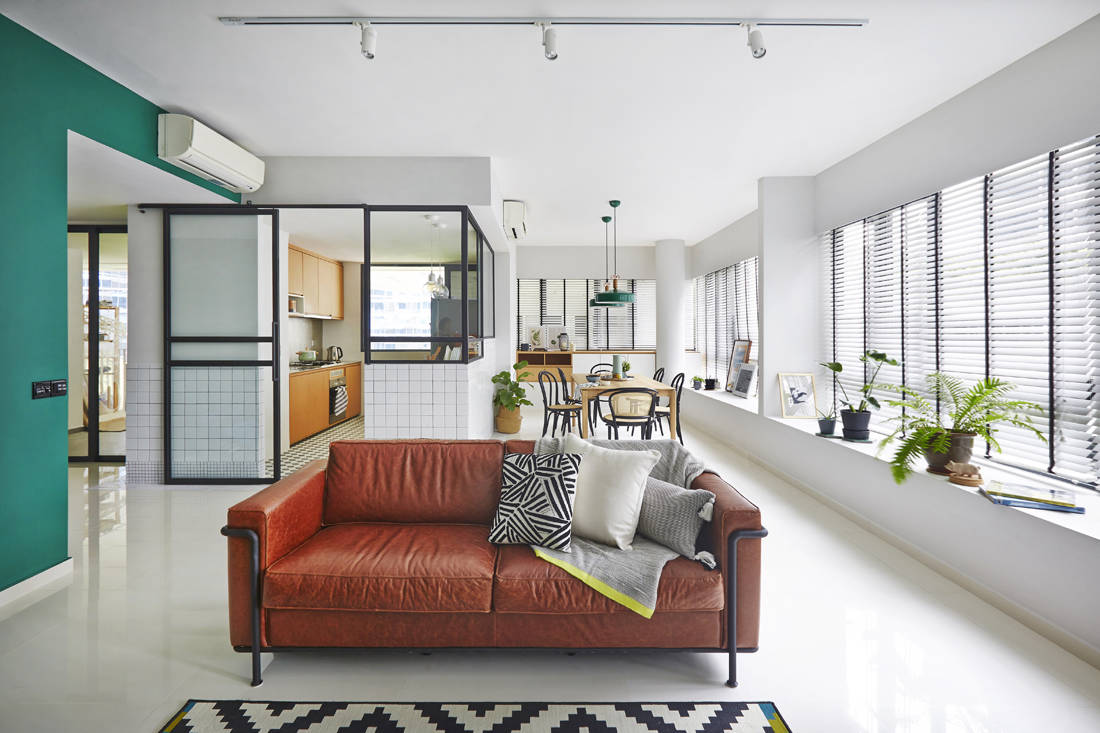 timeless interiors Interlace home by three-d conceptwerke (3)