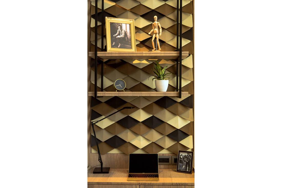 Luxury Tomlinson Heights condo son's bedroom by JPA Design