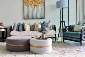 The Cinnamon Room hide rugs