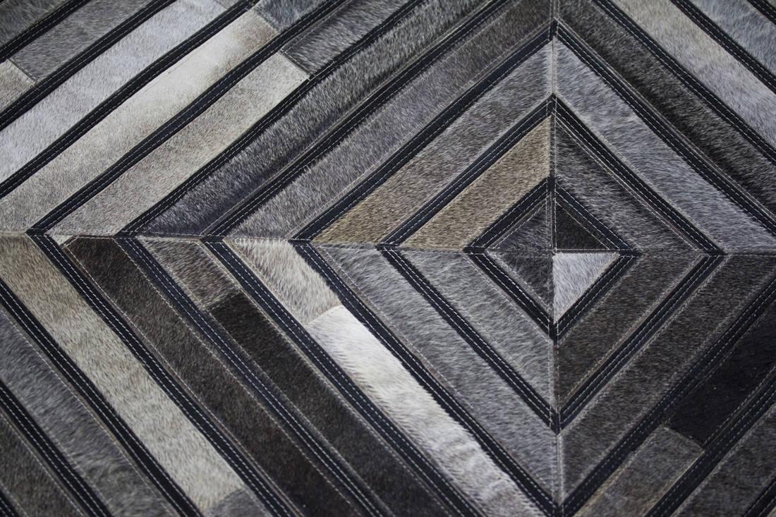 The Cinnamon Room hide rugs detail (2)