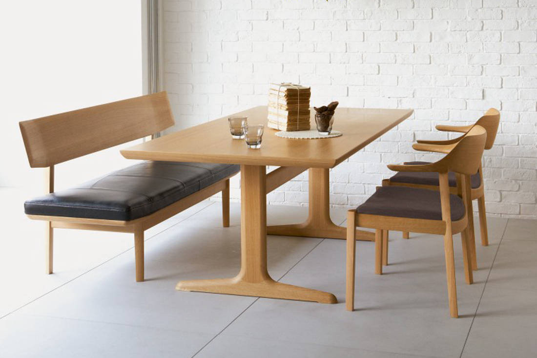 dining room furniture - Wing Lux Dining Bench and Chair by Conde House from Grafunkt