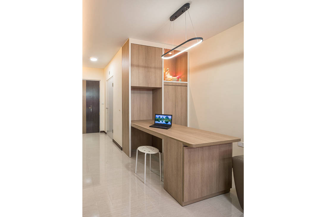 pull-out table in small family home by AP Concept (2)