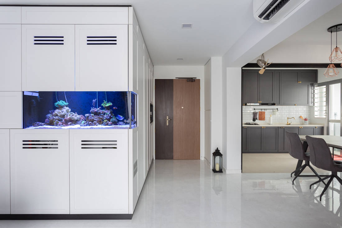 BTO flat with modern Victorian influences by D' Initial Concept
