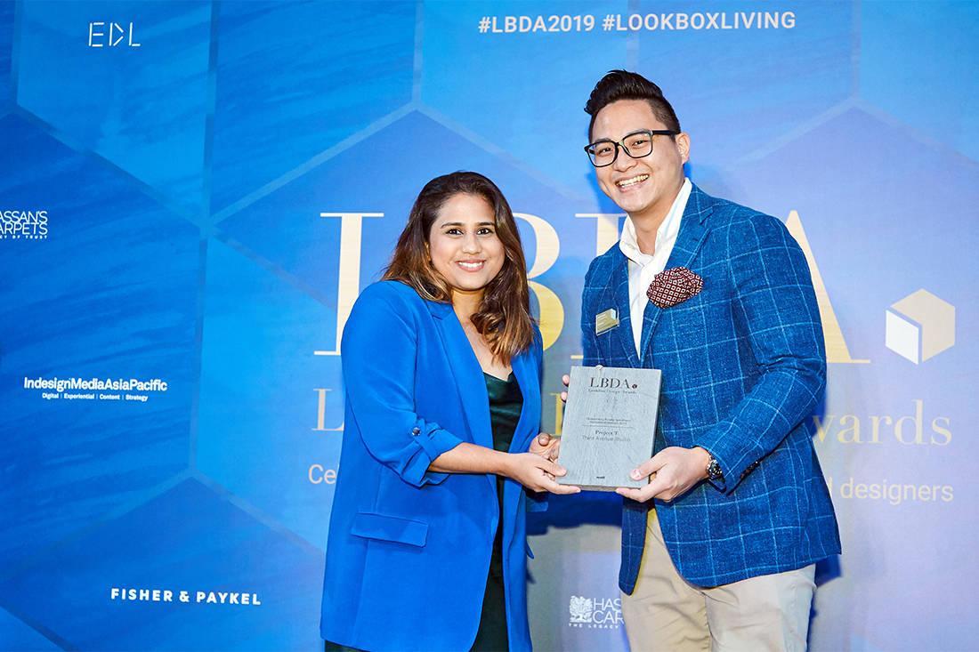 Dania Hassan and Edwin Pang at LBDA 2019 Gala Night