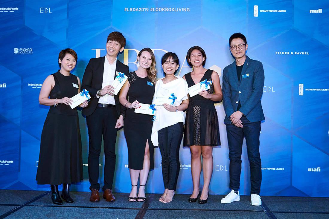 Hafary lucky draw winners at LBDA 2019 Gala Night