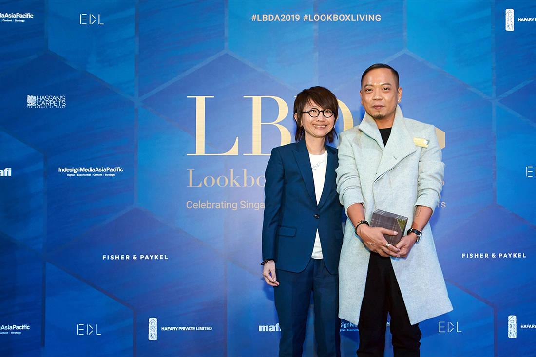 Kelley Cheng and Dennis Cheok at LBDA 2019 Gala Night