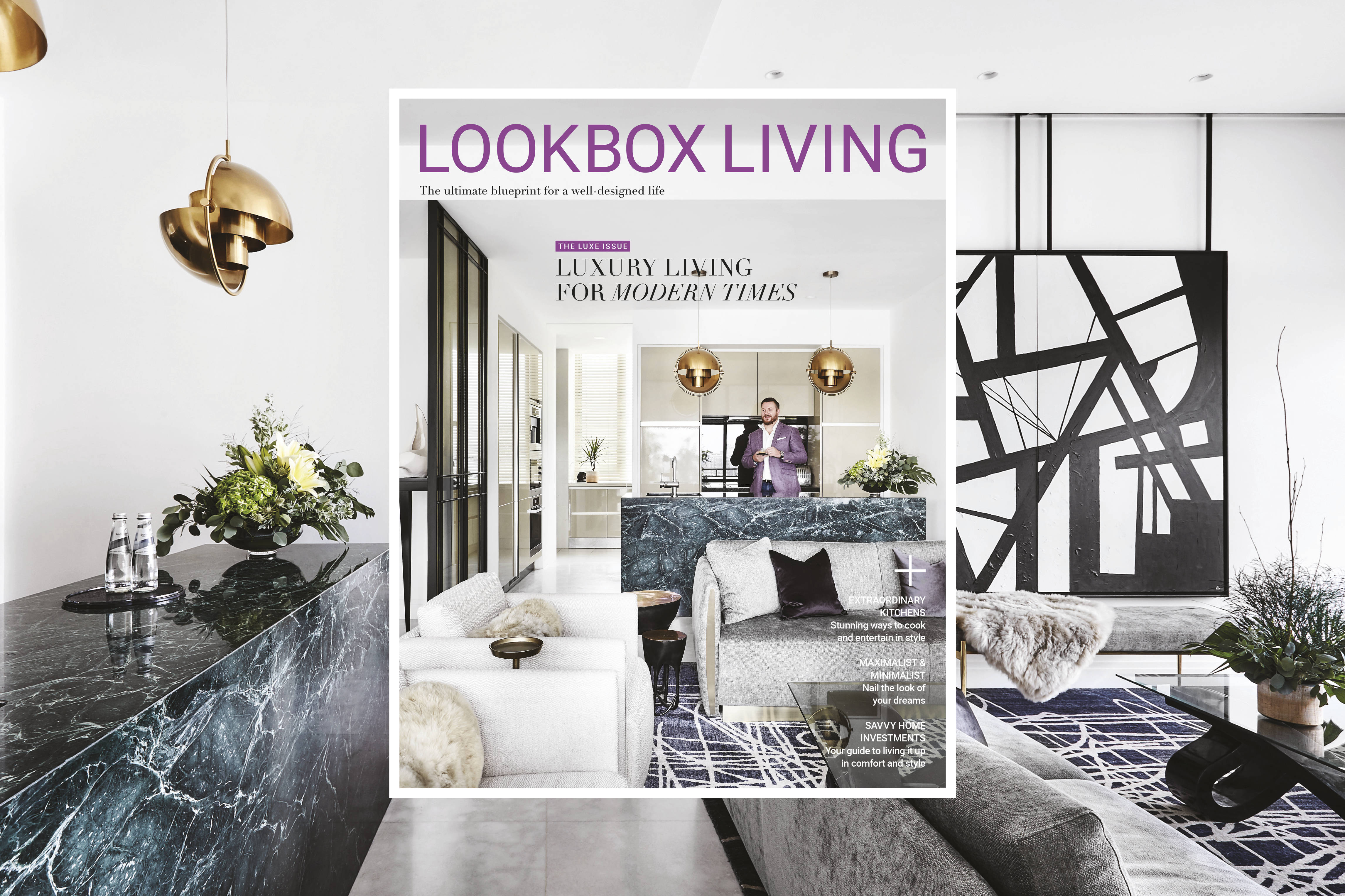 Lookbox Living 61 luxury theme issue