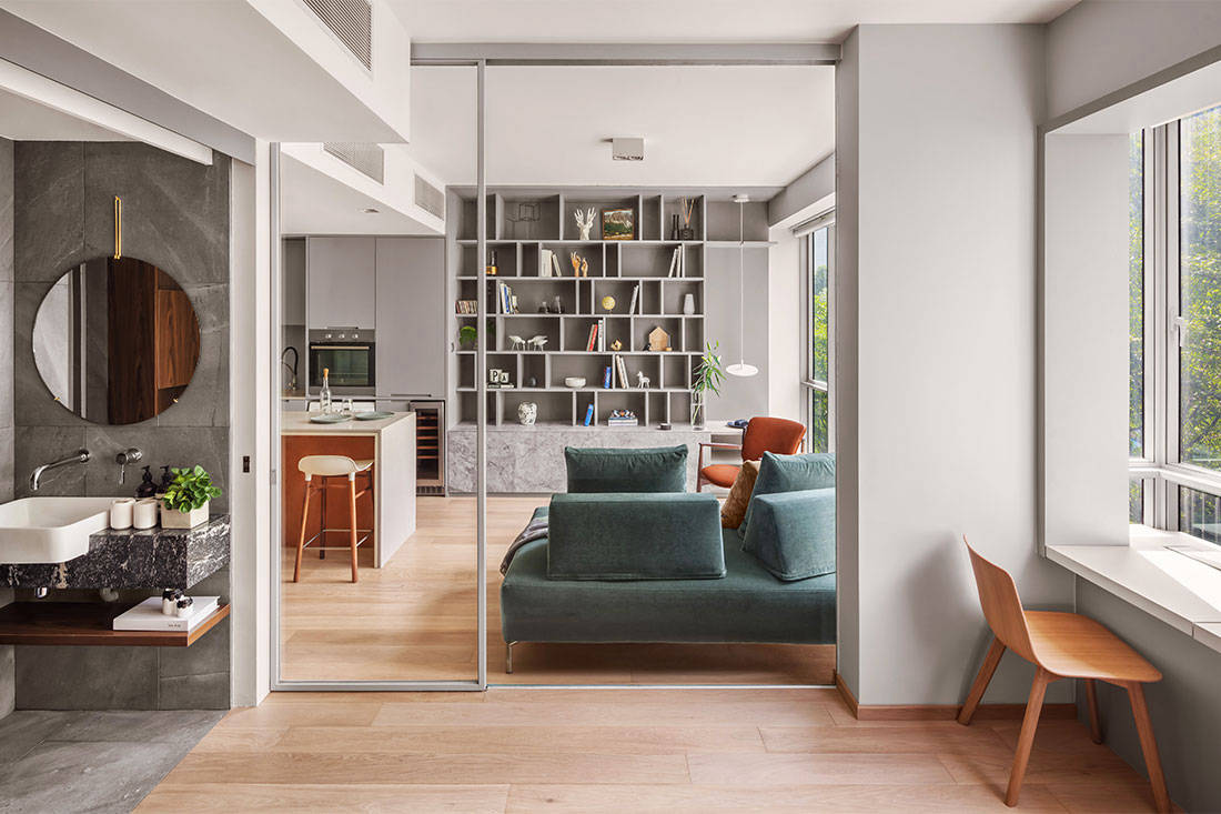 LBDA 2019 Best Small Space Living winner - Cairnhill Residence by atelier here (2)