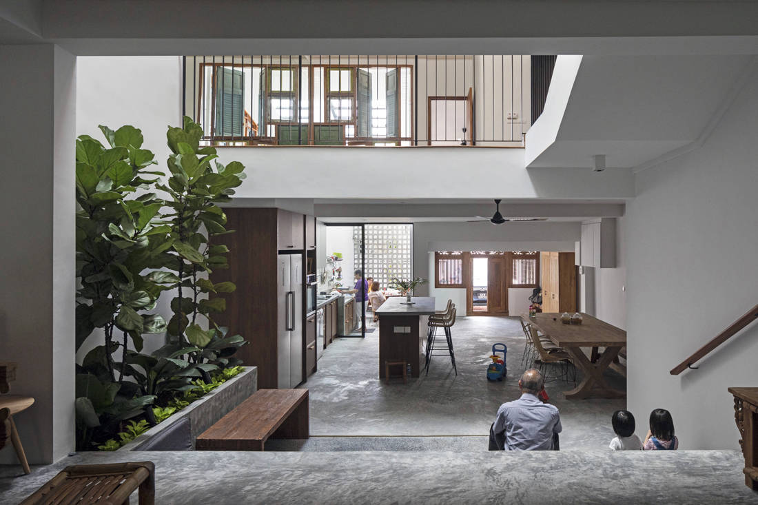 LBDA 2019 Best Space for Entertaining Honourable Mention - The Heng House by GOY ARCHITECTS