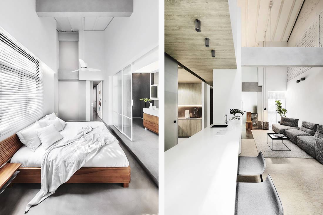 LBDA 2019 Most Dramatic Transformation Winner - The Loft Box Apartment by UPSTAIRS_