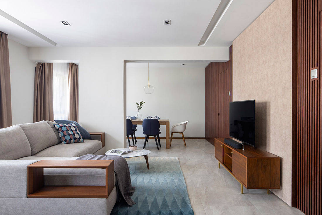 LBDA 2019 Outstanding HDB Flat- People's Choice - Where Raw Meets Refined by Neu Konceptz