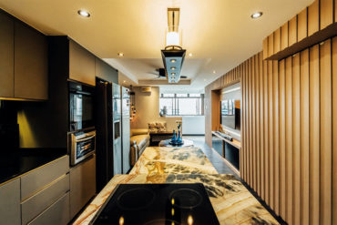 Handicapped-friendly home with lavish details