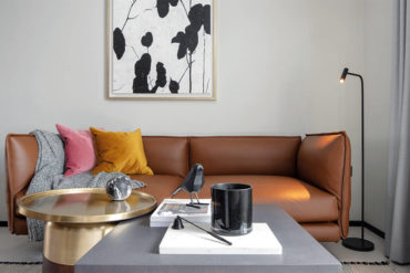 Achieving an understated elegance in a small flat