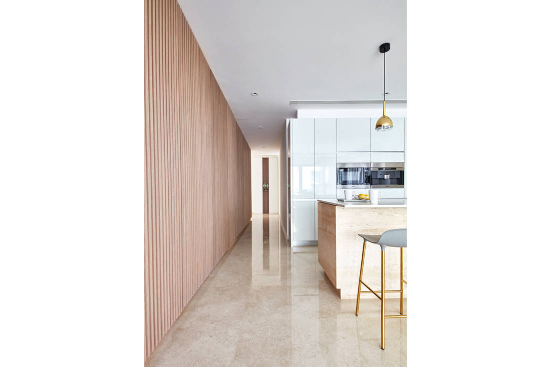 use of marble in Trilight condo by Free Space Intent (5)