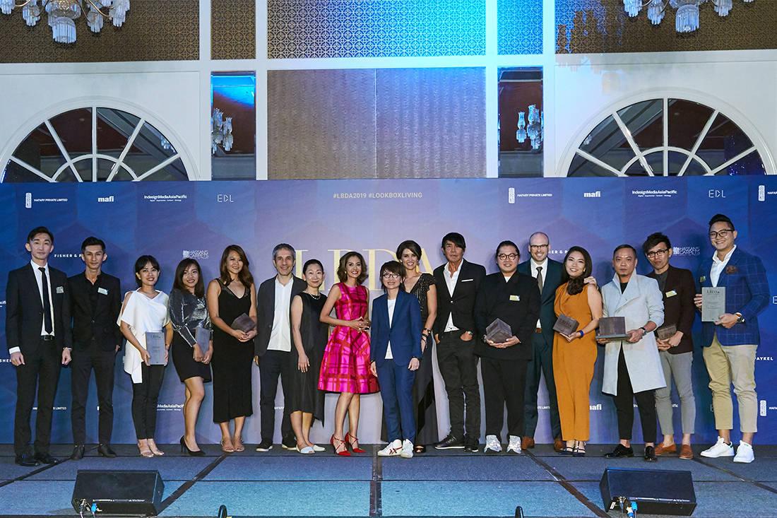 winners at LBDA 2019 Gala Night