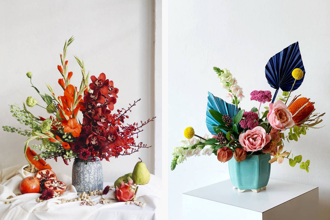 Chinese Ne Year 2020 flowers - Floral Magic and Ina