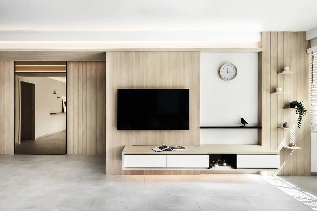 Japanese minimalist apartment AMP Design Co