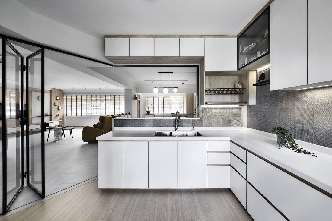 Japanese minimalist apartment AMP Design Co 3