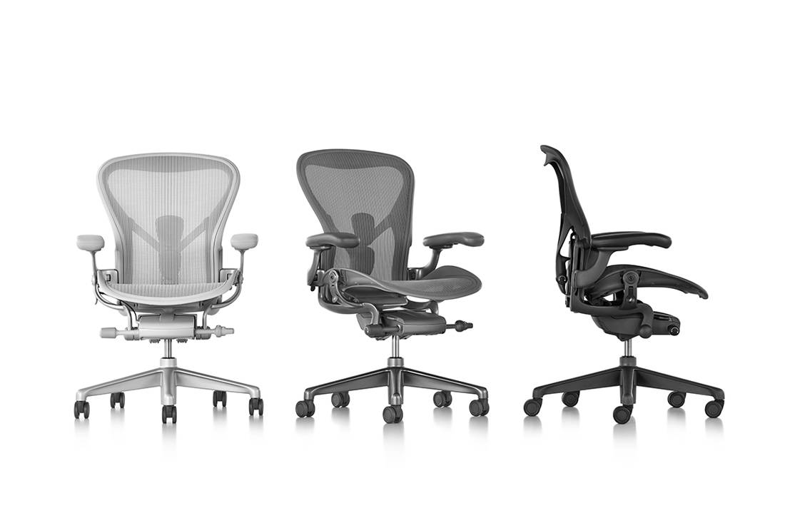 Herman Miller Aeron Chair from XTRA