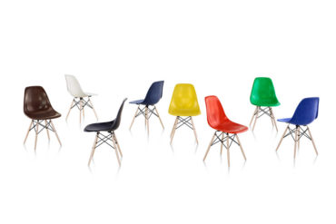 Herman Miller Eames Molded Fiberglass Chair from XTRA (4)