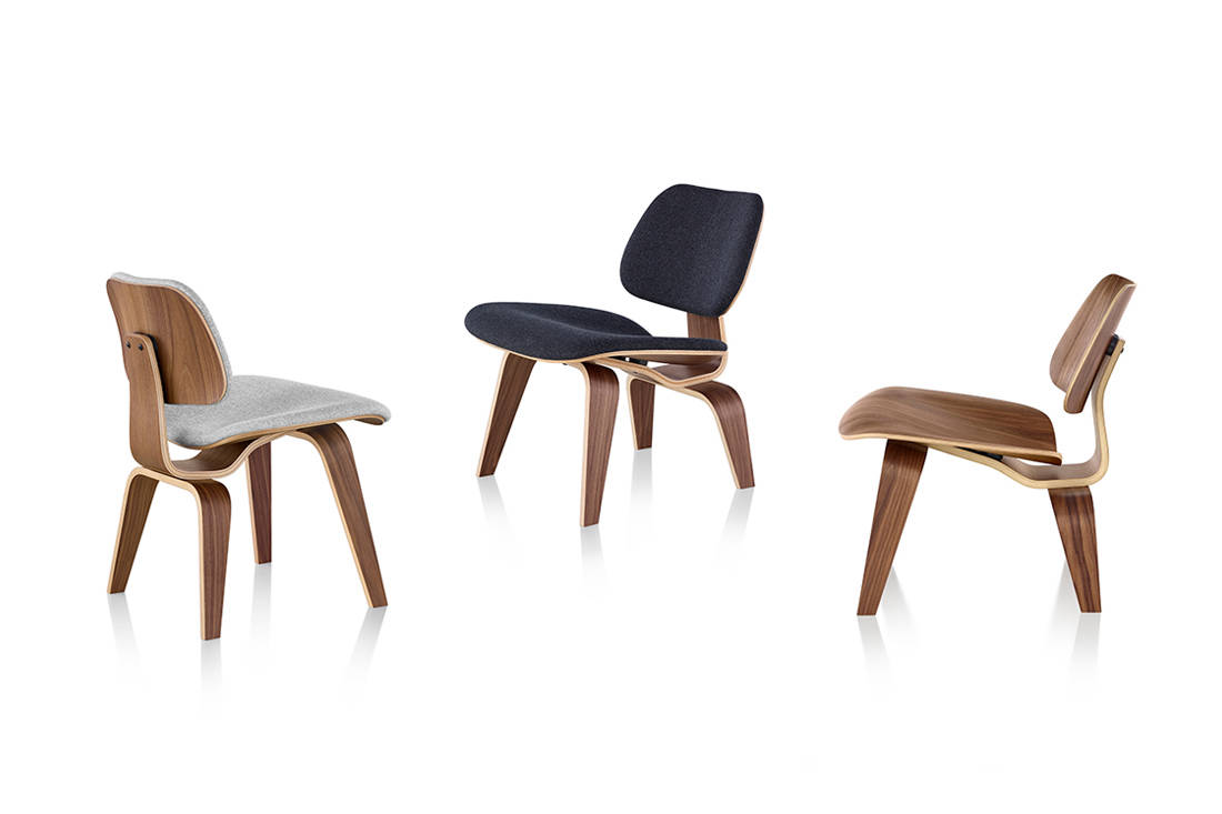 Herman Miller Eames Molded Plywood Chairs from XTRA (4)