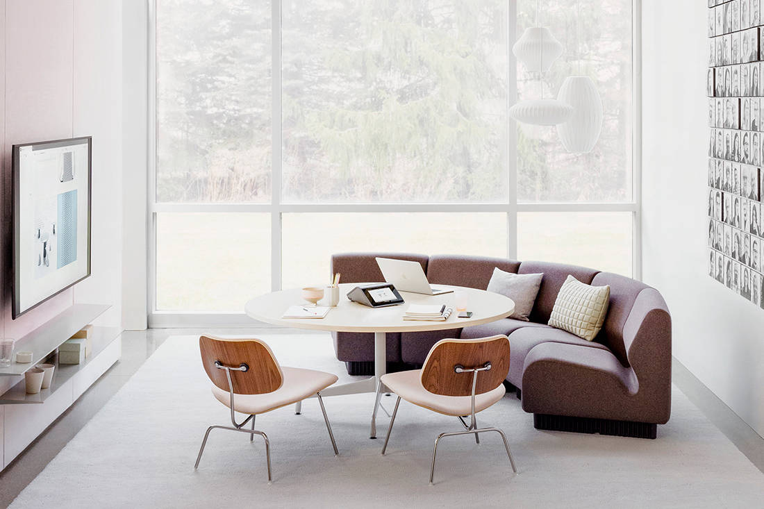 Herman Miller Eames Molded Plywood Chairs from XTRA