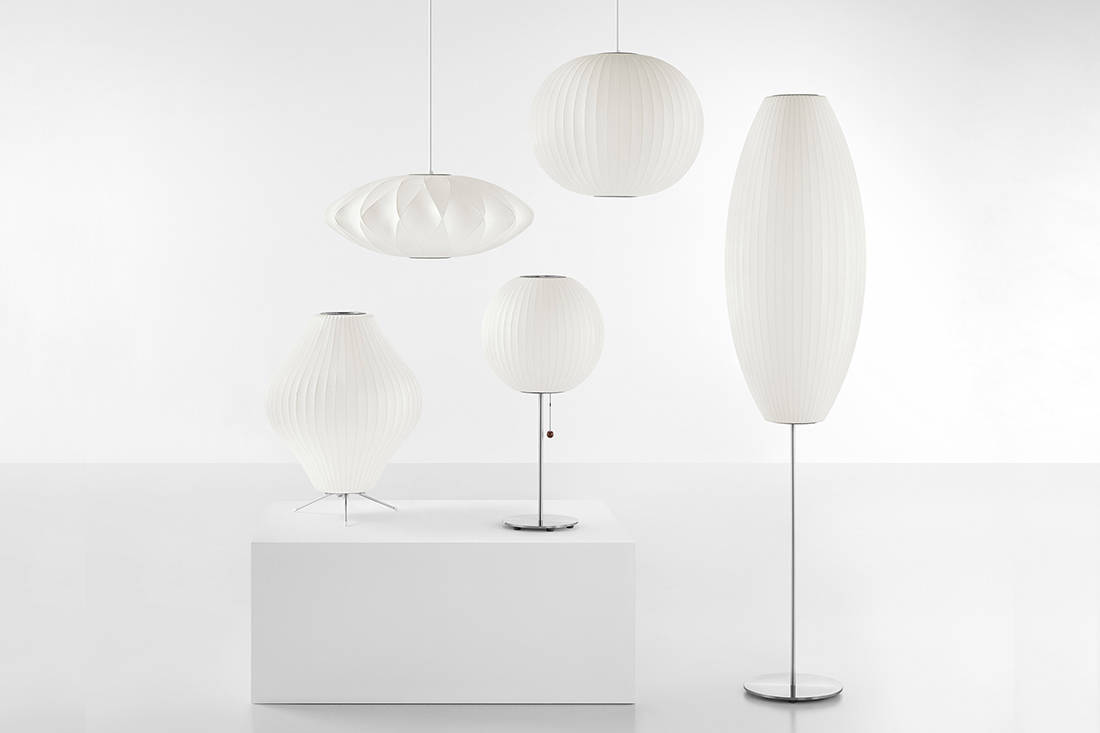 Herman Miller Nelson Bubble Lamps from XTRA (2)