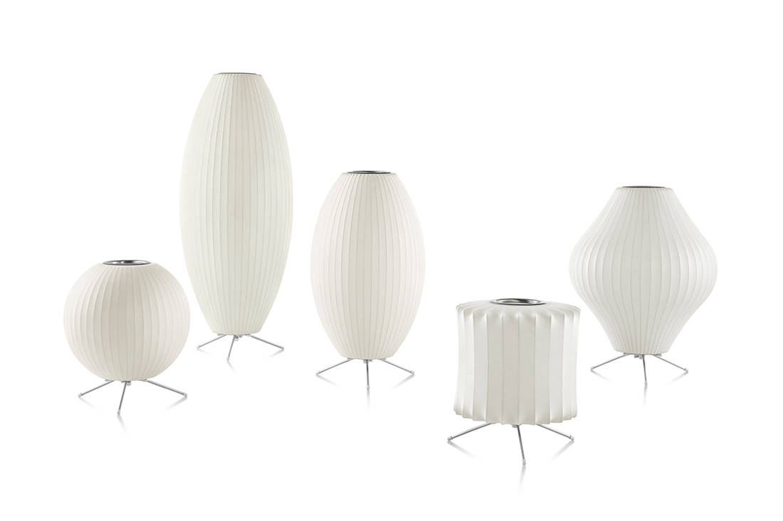 Herman Miller Nelson Bubble Lamps from XTRA