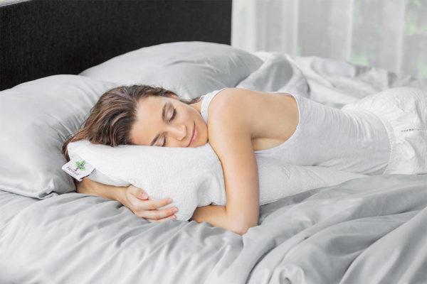 Heveya latex pillow by European Bedding - softplush