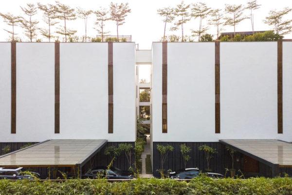 Studio Lotus twin houses in India (5)