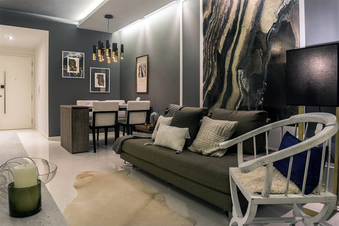 art takes centre stage in chinoiserie-style condo by Image Creative Design (2)