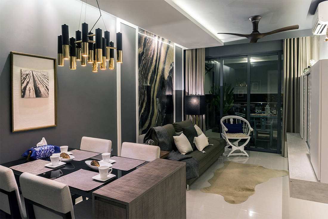 art takes centre stage in chinoiserie-style condo by Image Creative Design (3)