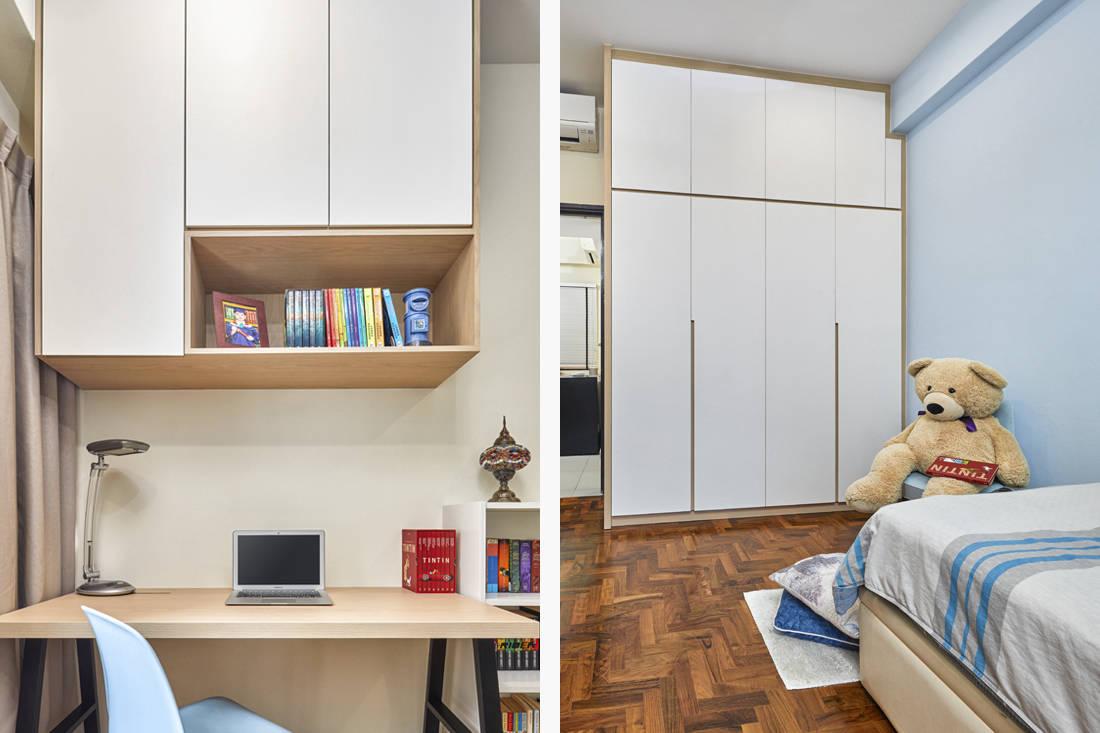 scandinavian minimalism kid's bedroom by AP Concept