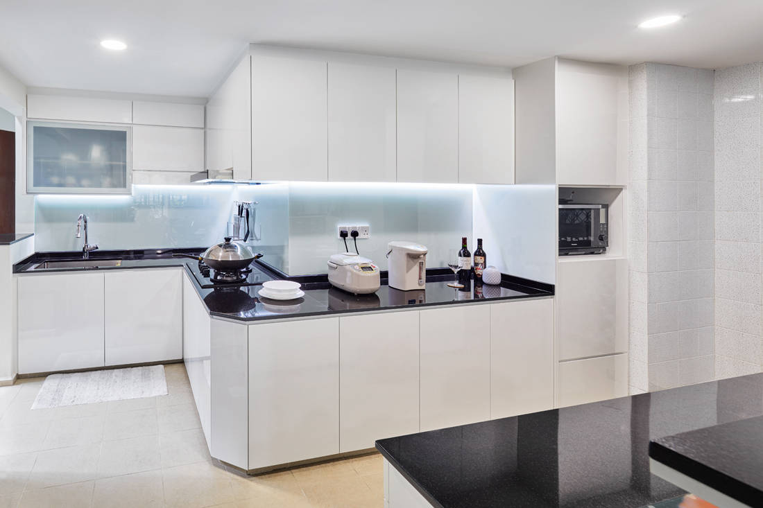 scandinavian minimalism kitchen by AP Concept
