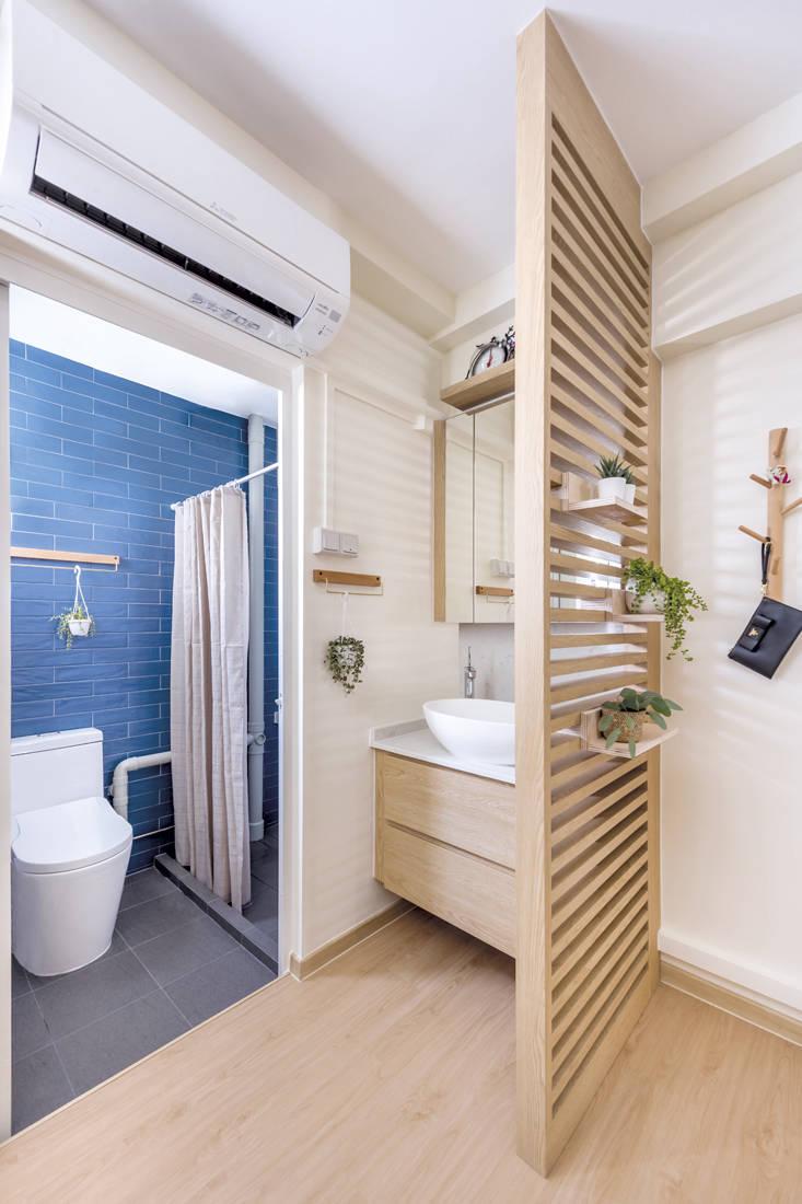 Muji-inspired abode D5 Studio Image - bathroom