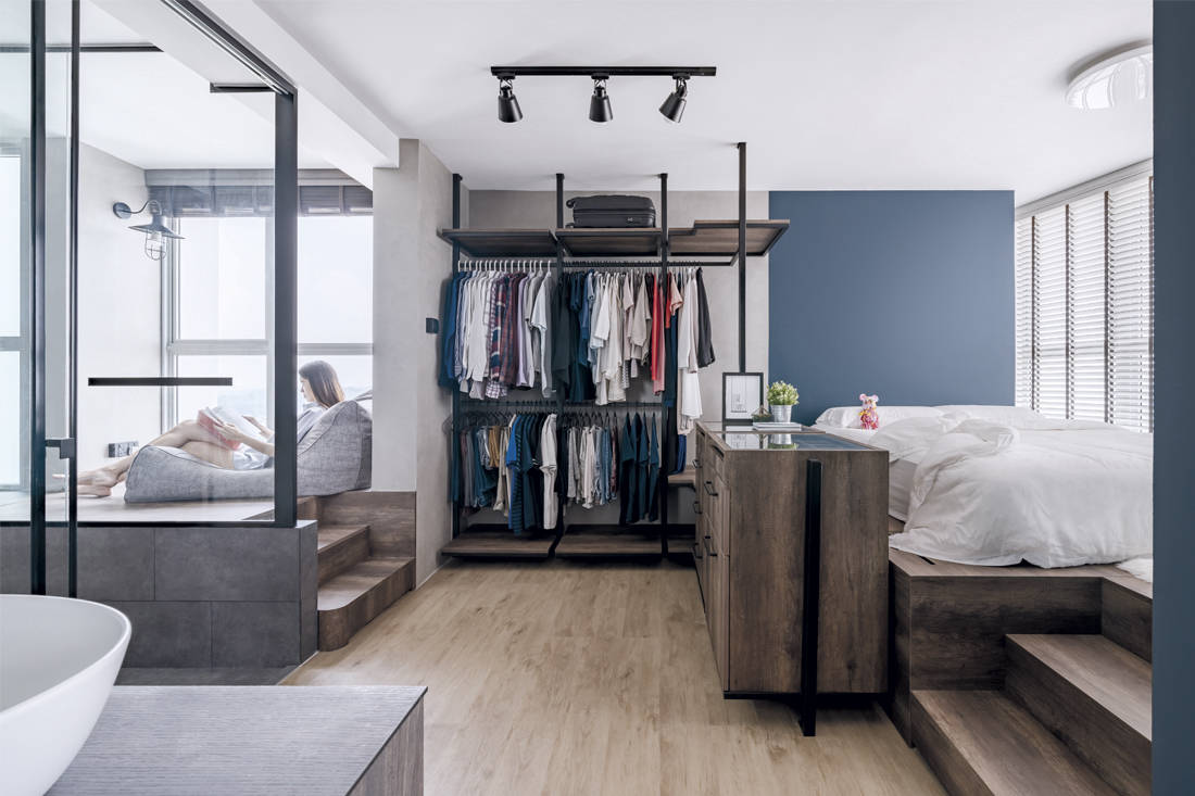 Free-flowing flat | Ethereall - bedroom