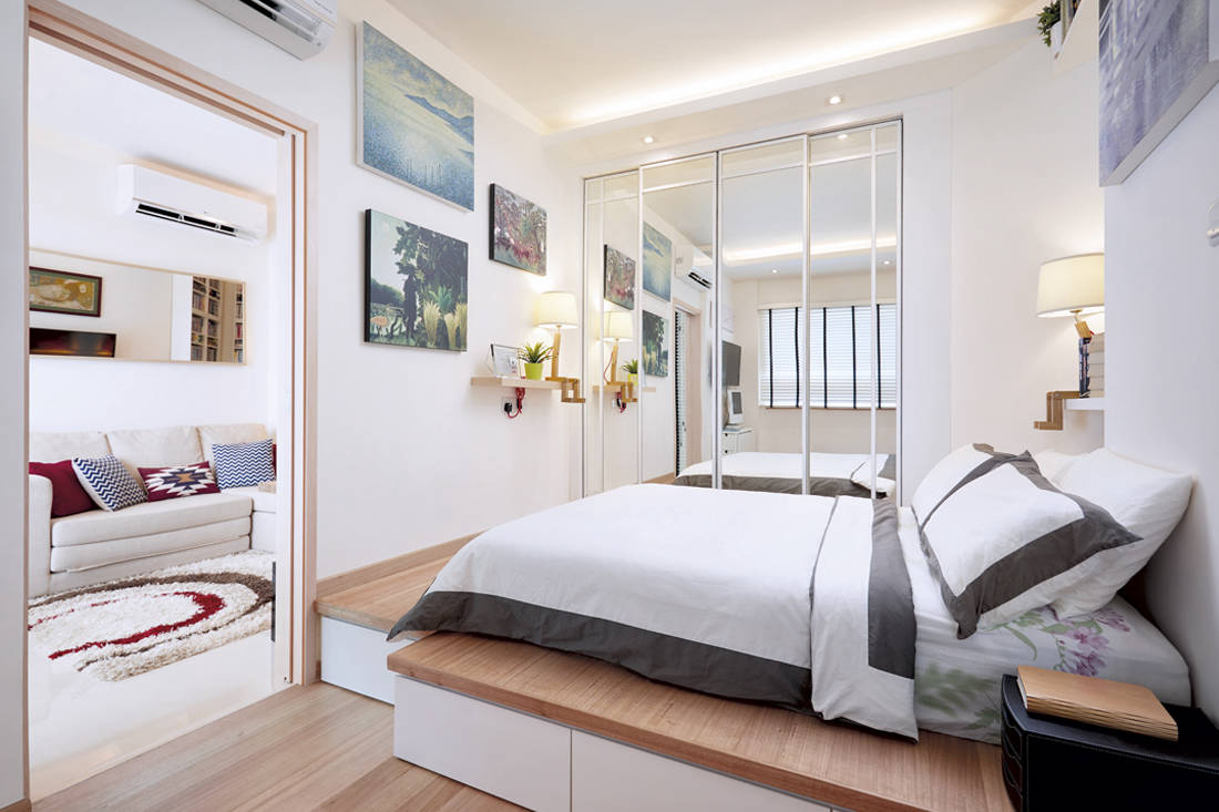 Spacious one-bedder | Design 4 Space - bedroom