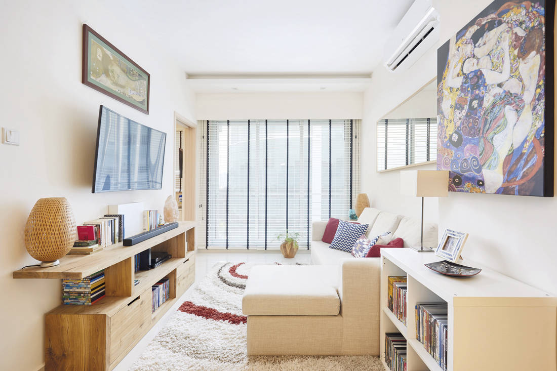 Spacious one-bedder | Design 4 Space - living room