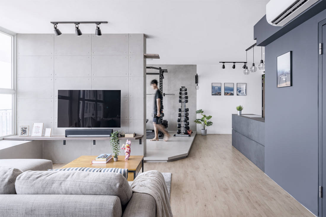 Free-flowing flat | Ethereall - living