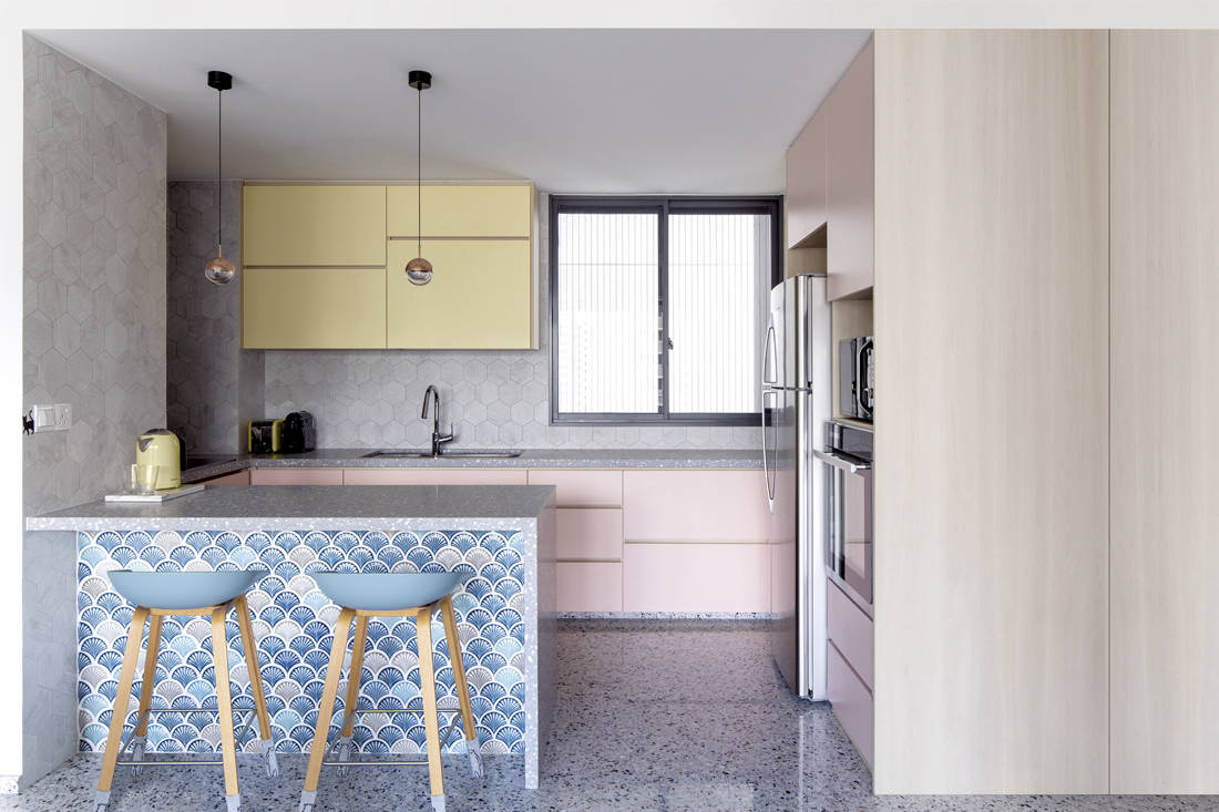 cat-friendly home | Linear Space Concepts - kitchen