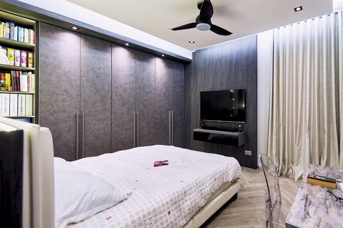 Carpenters Scandinavian open-concept - bedroom