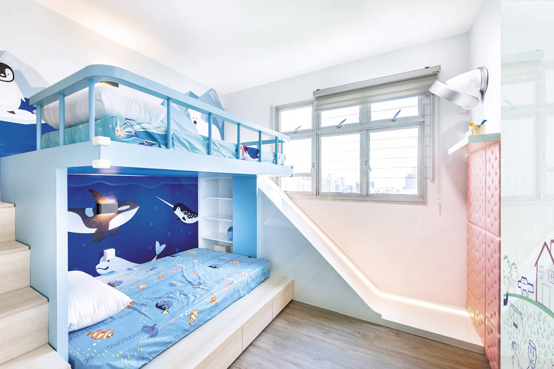bright and cheerful   DSOD Interior - bedroom
