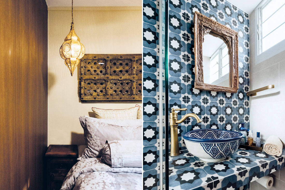 Moroccan islamic design | Fatema Design Studio - bed bath
