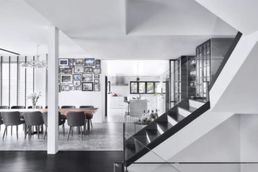 This house is a black and white beauty following a complete revamp