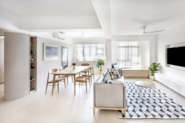 This HDB flat showcases minimalism at its finest