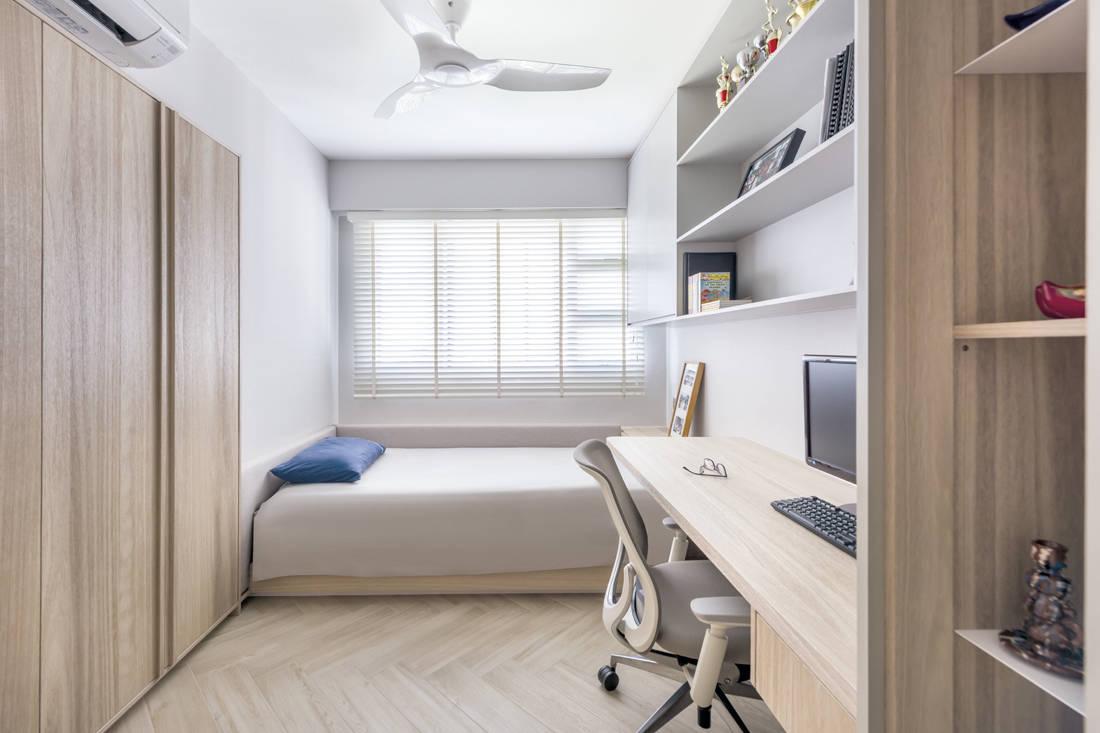 Minimalism at its best Artistroom - bedroom