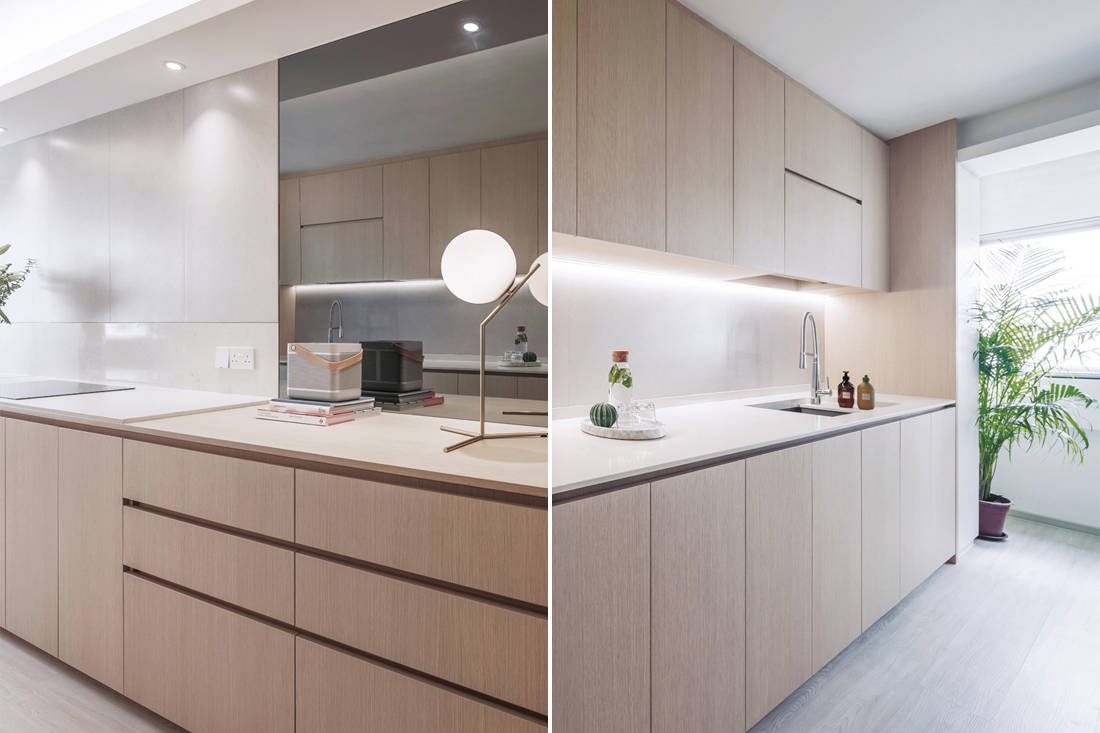 functional and purposeful | Right Angle Studio - Plane Apartment - kitchen