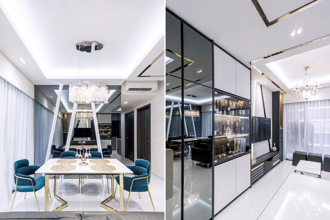 Bright and shiny | Flo Design - dining