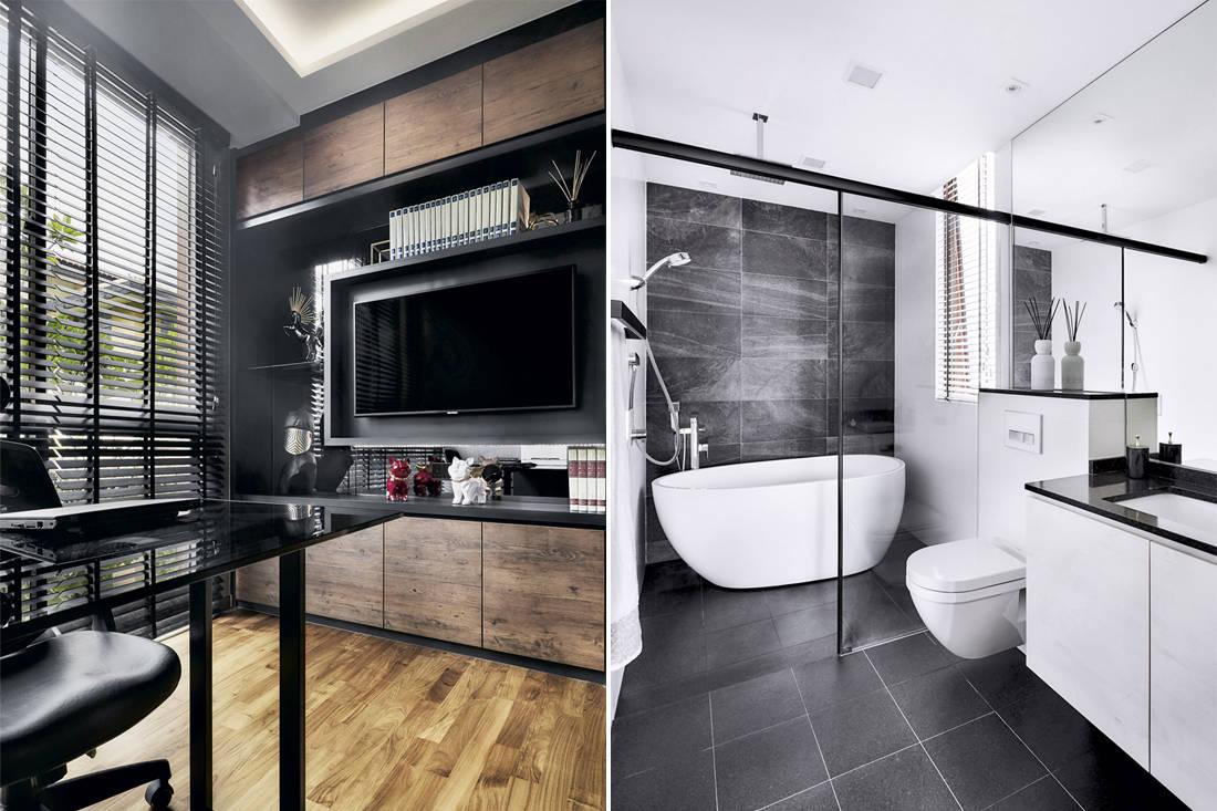 Forever home | Rhiss Interior - bathroom / study