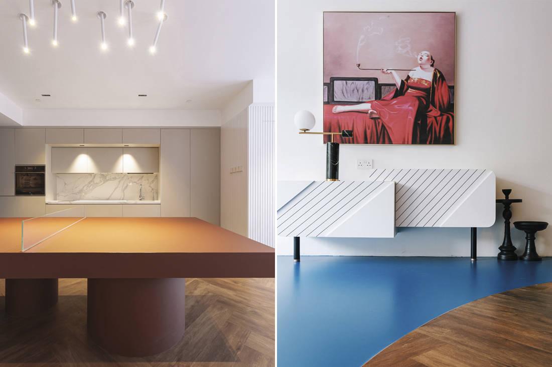 colour blocks D' Initial Concept